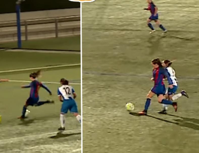 Barça Women's Amazing Solo Goal