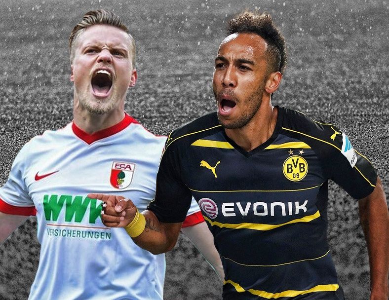 Highlights Augsburg - Dortmund 1-1